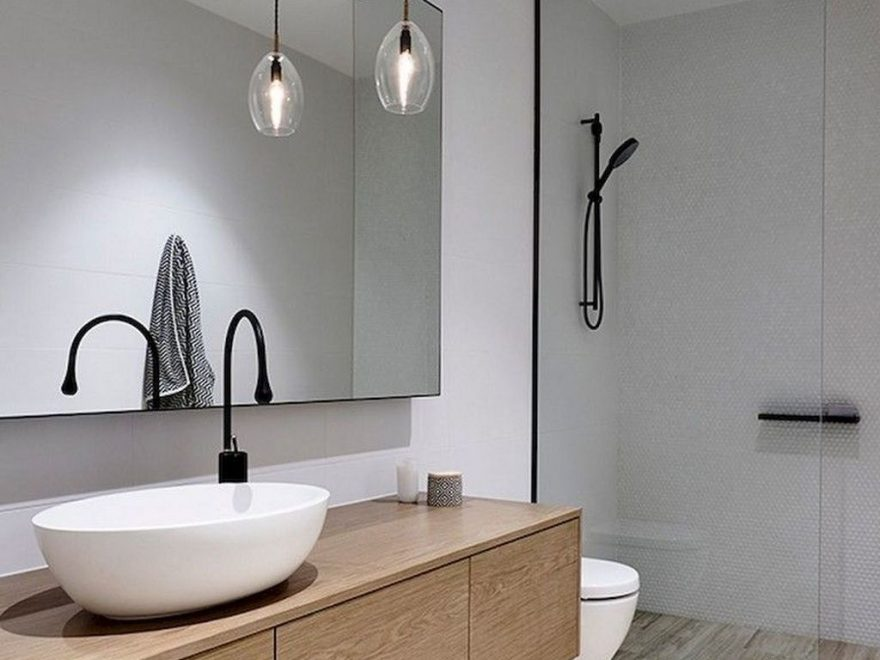 The Best Ideas To Creating Cozy Minimalist Bathroom 38