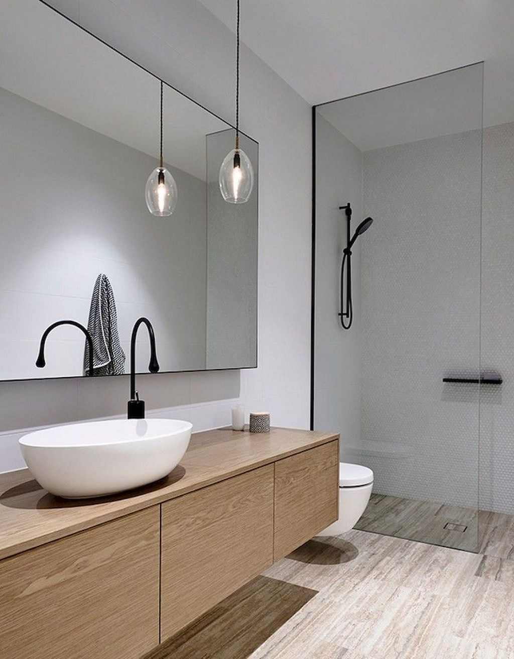 The Best Ideas To Creating Cozy Minimalist Bathroom 38