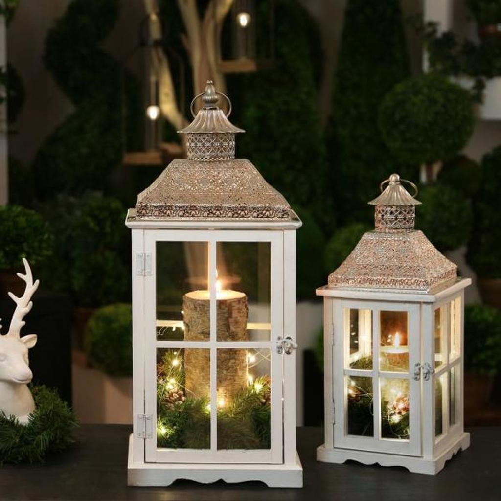 Fabulous Winter Lantern Centerpieces Ideas 17 Pimphomee