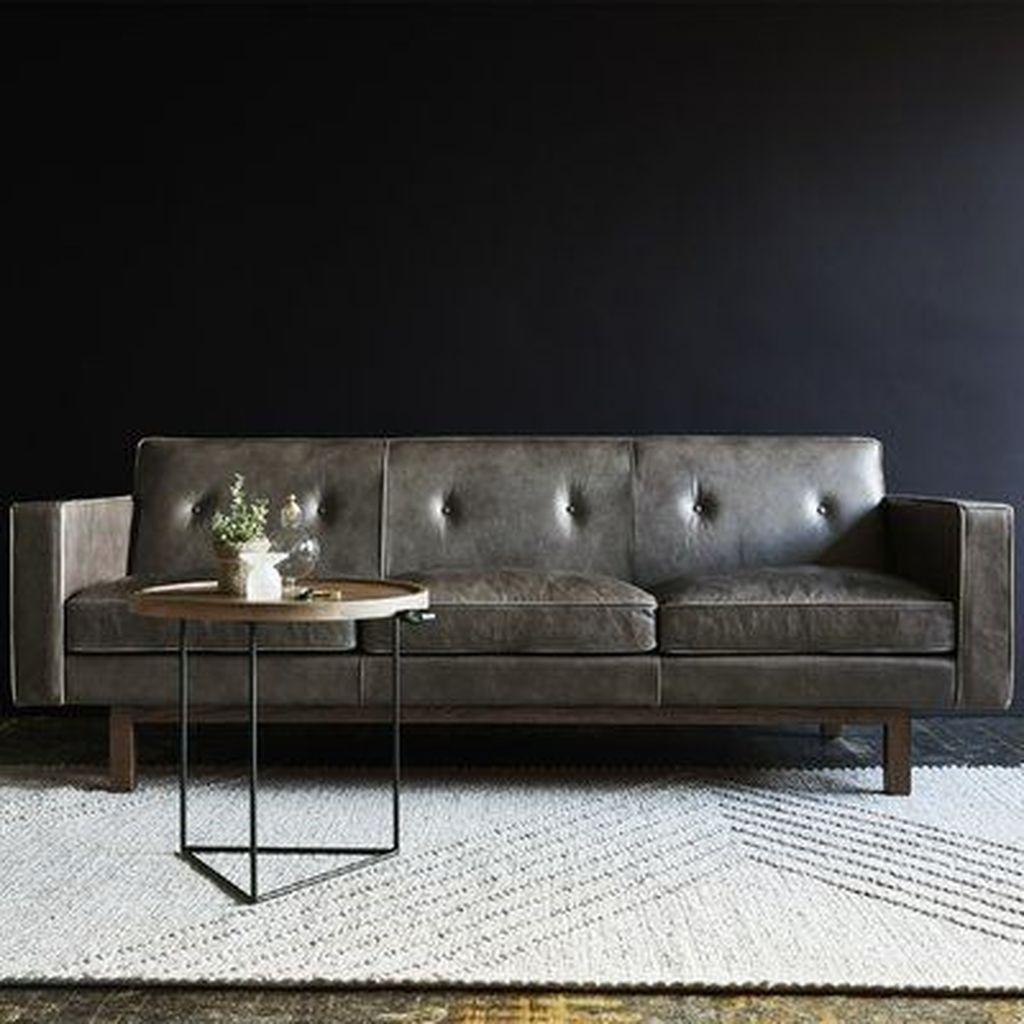 30 Awesome Leather Sofa Design Ideas