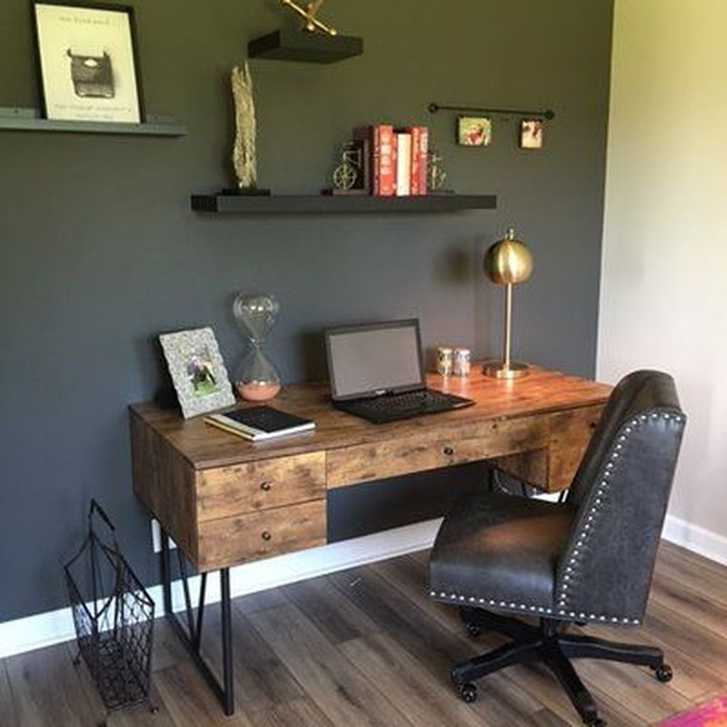 Nice Small Home Office Design Ideas 17