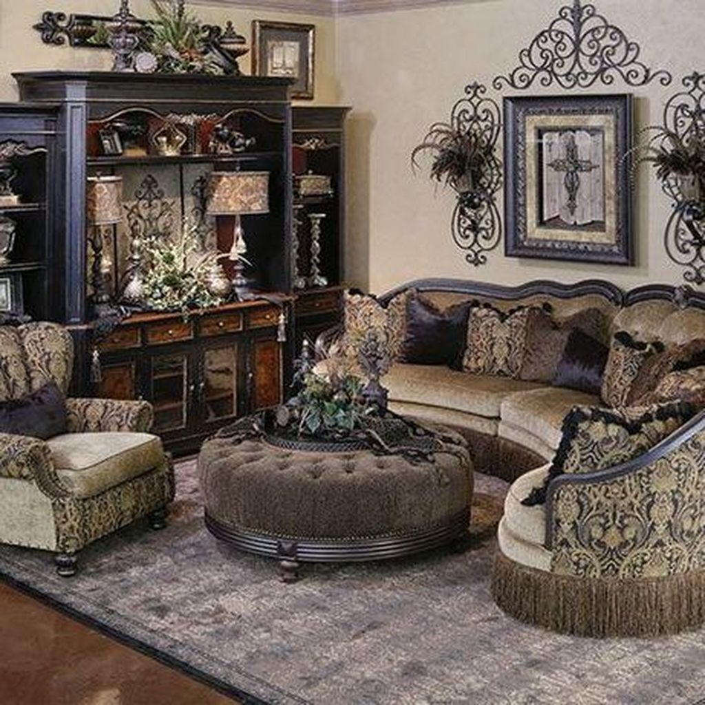Nice Tuscan Living Room Decor Ideas You Will Love 25