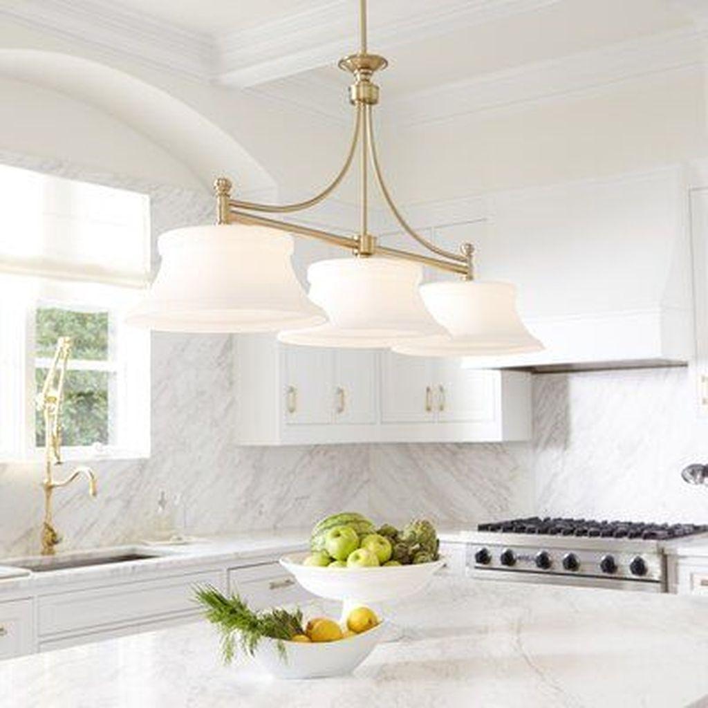 Wonderful Kitchen Lighting Ideas To Make It Look More Beautiful 32