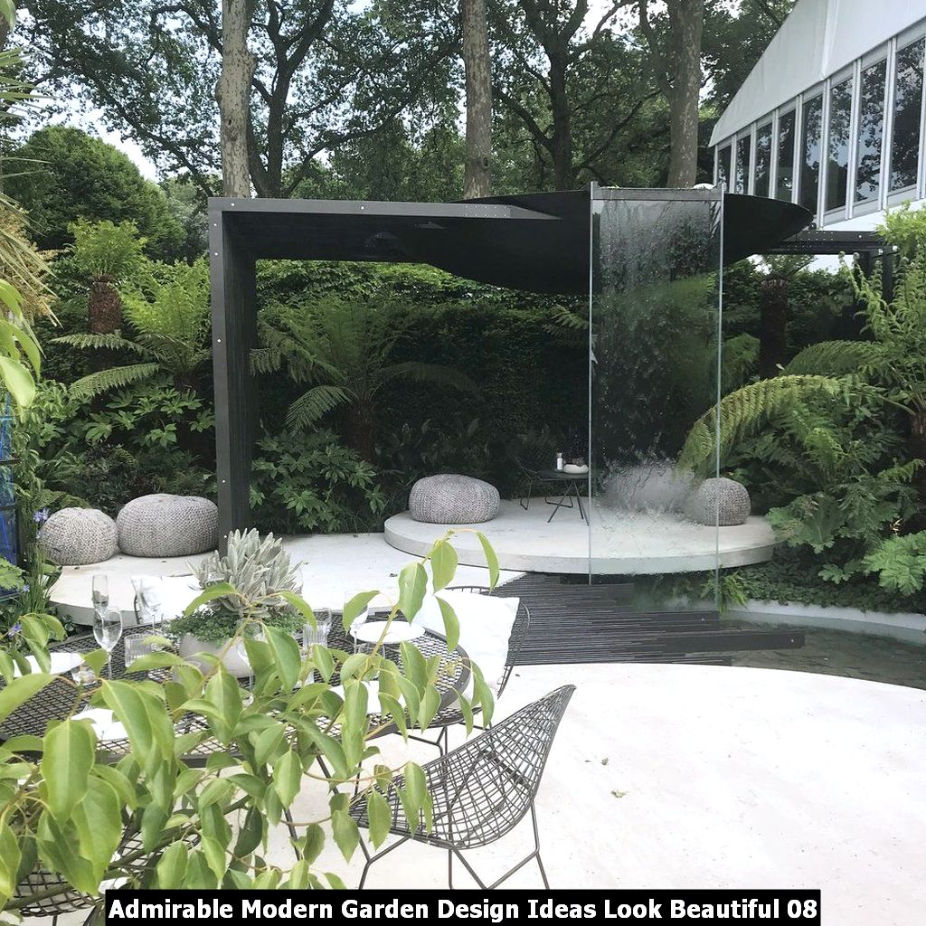 Admirable Modern Garden Design Ideas Look Beautiful 08