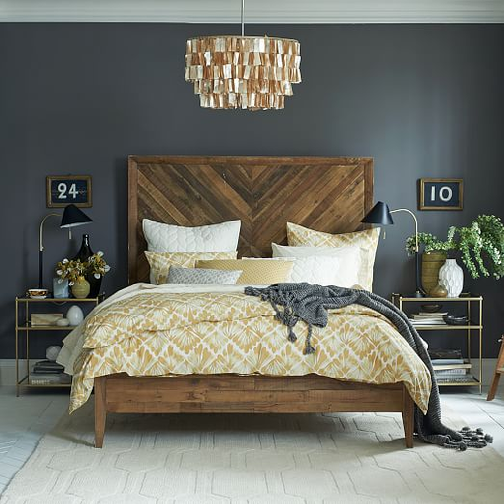 31 Amazing Vintage Wooden Bed Frame Design Ideas Pimphomee