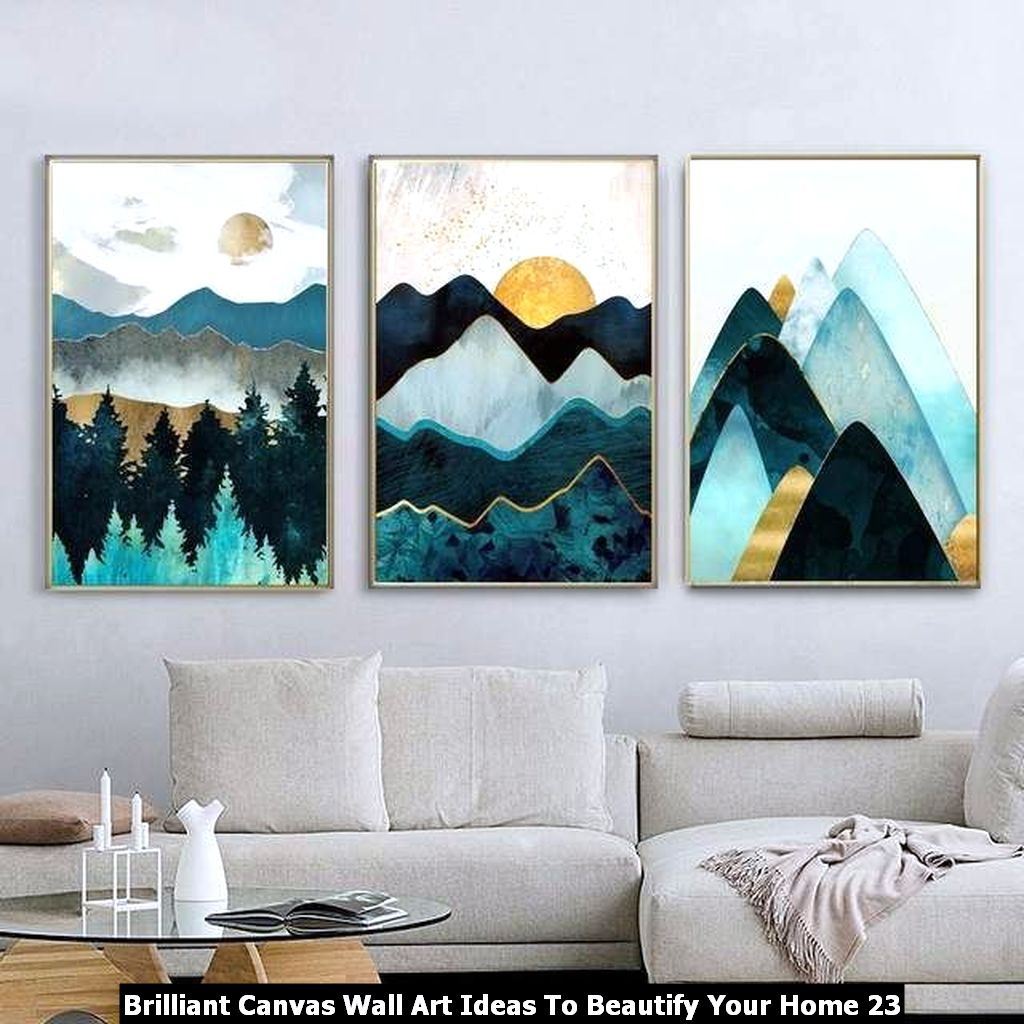 Brilliant Canvas Wall Art Ideas To Beautify Your Home 23