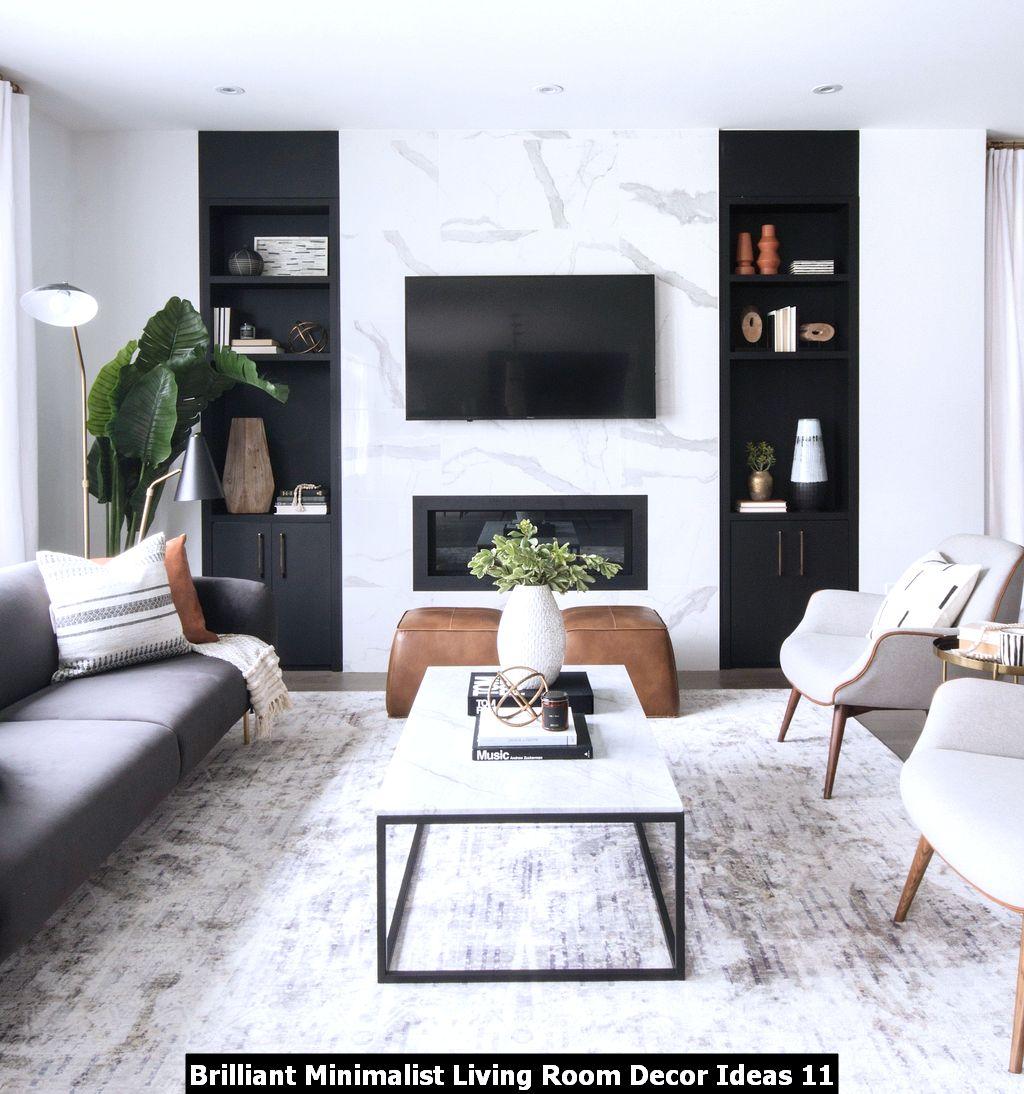 Brilliant Minimalist Living Room Decor Ideas 11 Pimphomee