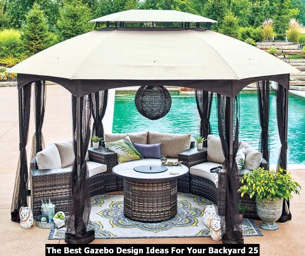 The Best Gazebo Design Ideas For Your Backyard 25
