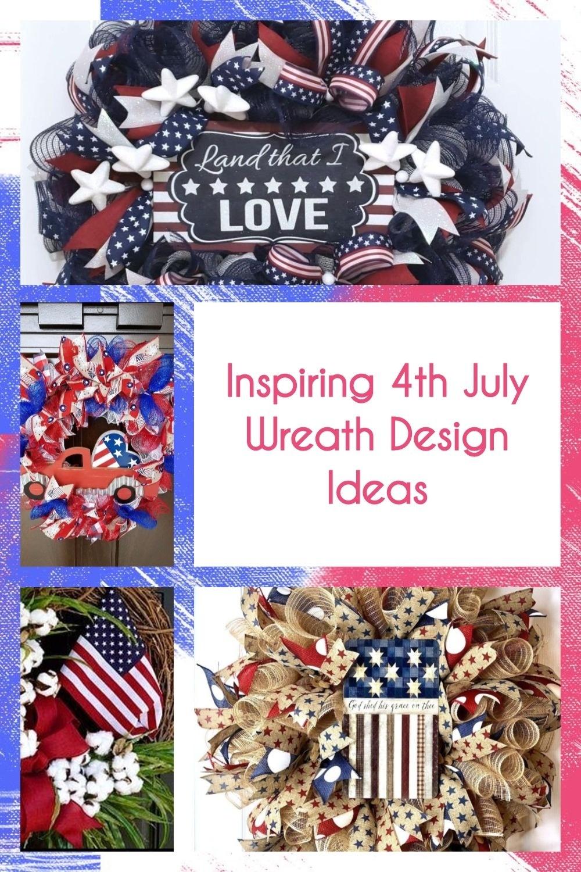 Inspiring 4th July Wreath Design Ideas