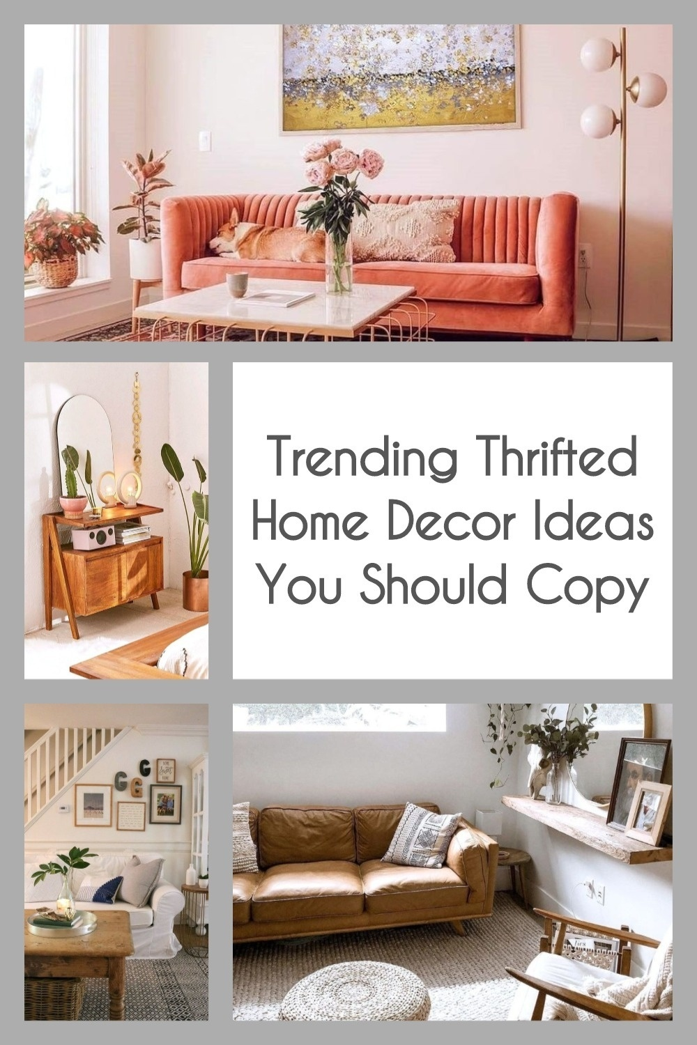 Trending Thrifted Home Decor Ideas You Should Copy