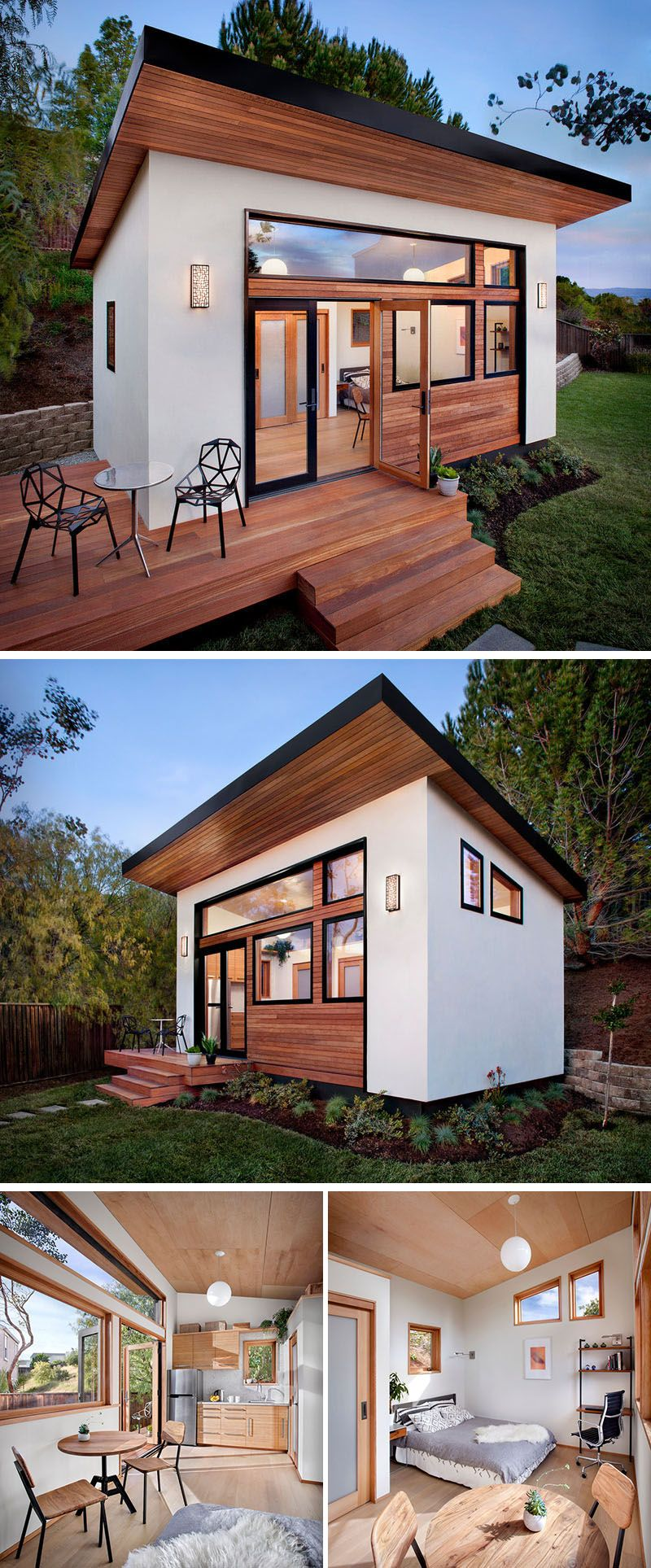 Backyard Guest House With Bathroom