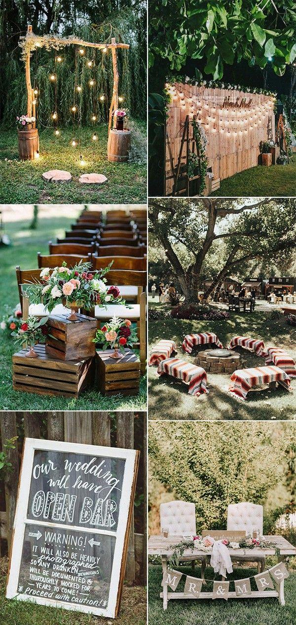 Low Budget Small Backyard Wedding