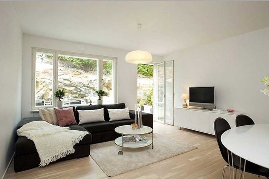 Big Windows For Living Room