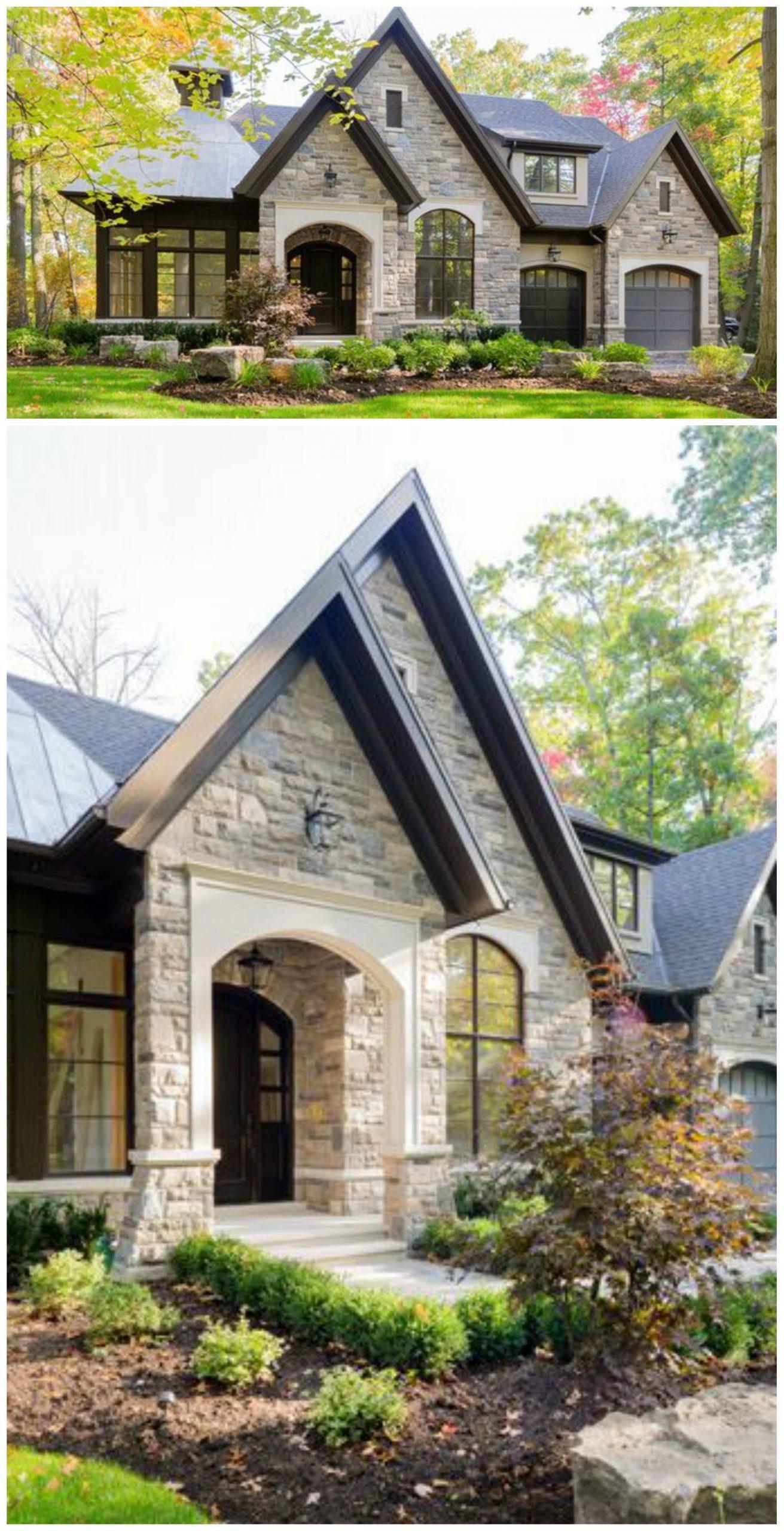Stone Exterior Homes