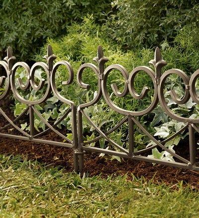 Decorative Metal Garden Edging