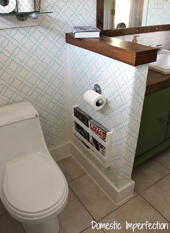 Bathroom Magazine Holder