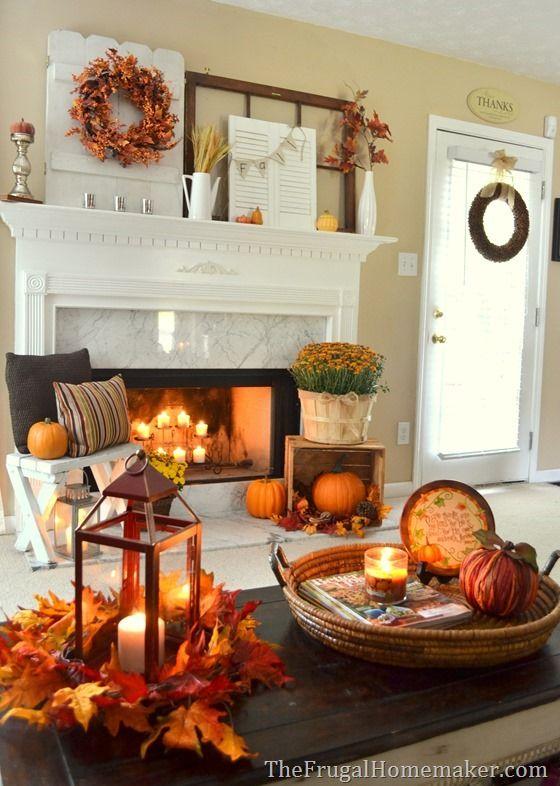 Interior Fall Decorating Ideas