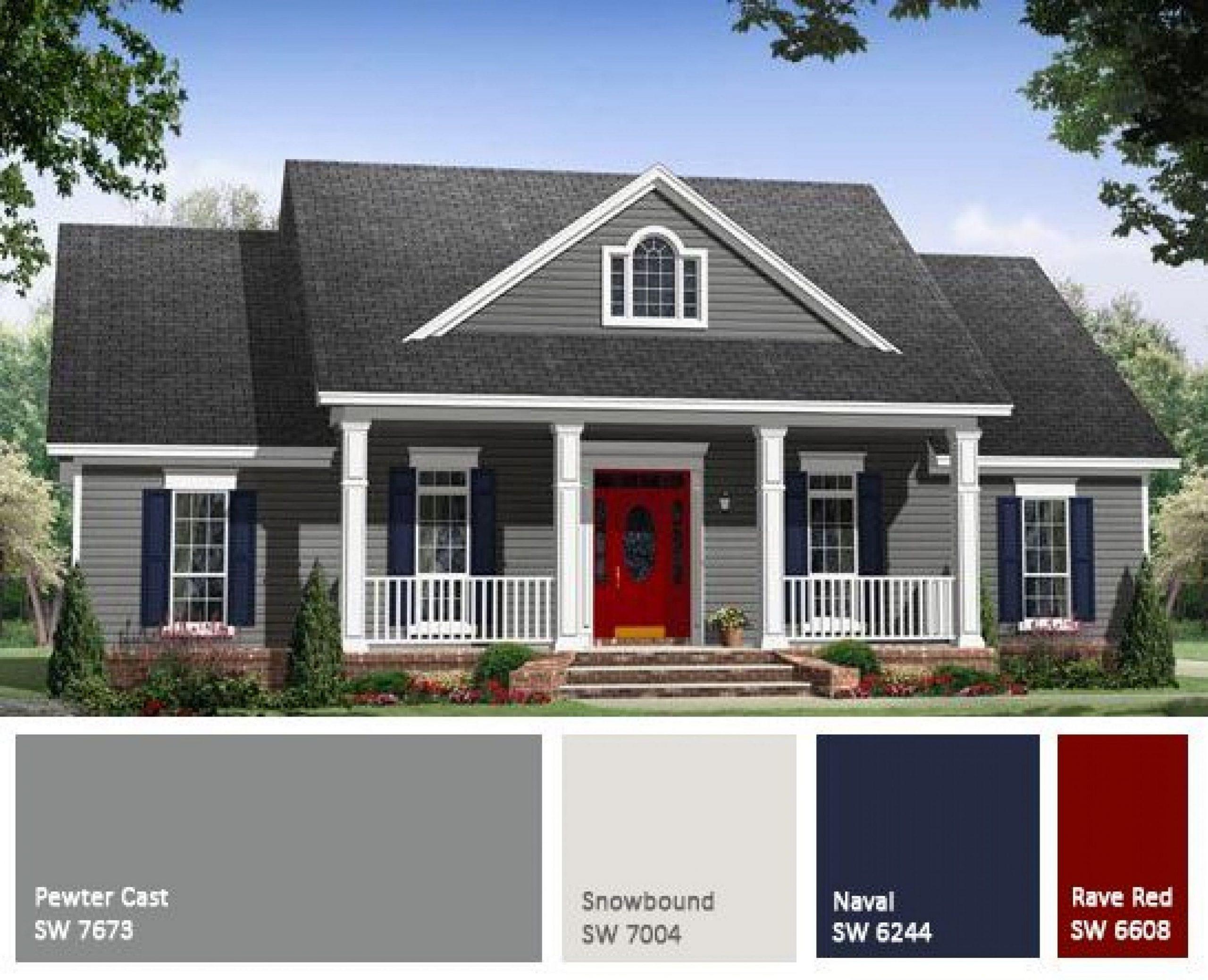 Exterior Home Color Schemes