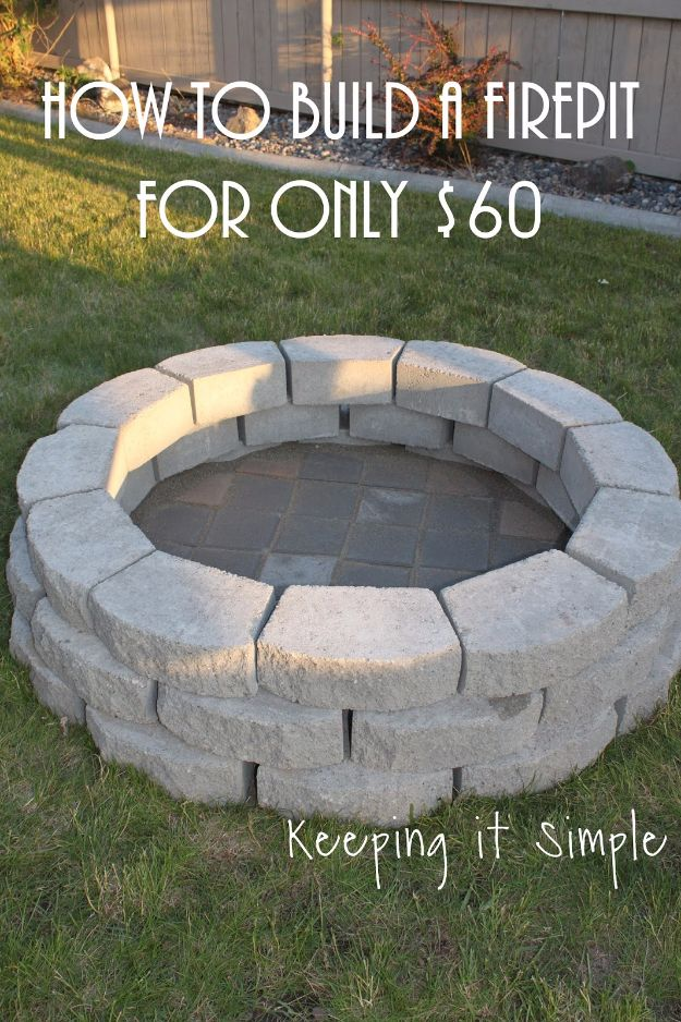 Backyard Fire Pit Ideas Cheap