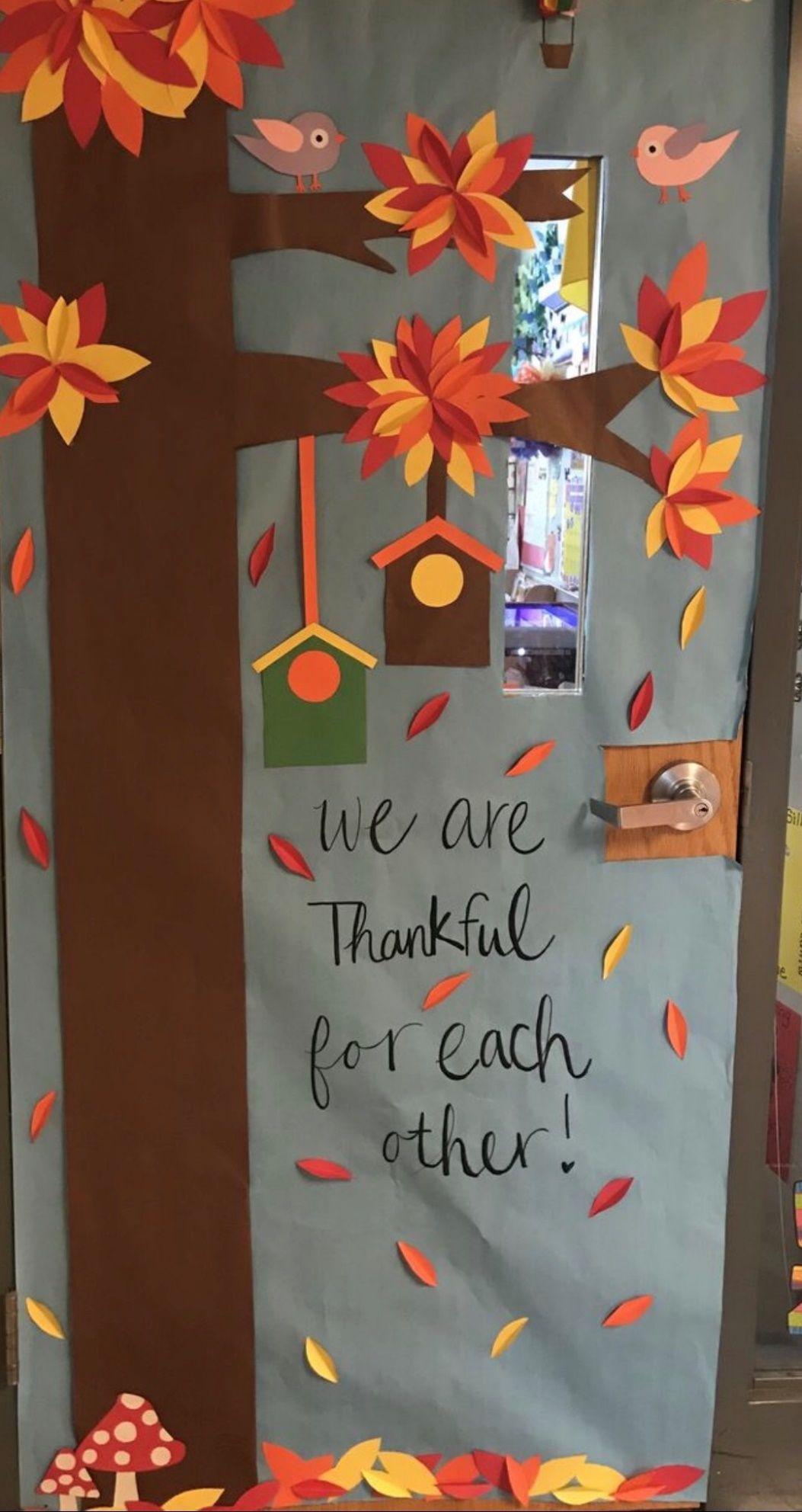 Fall Classroom Decorating Ideas