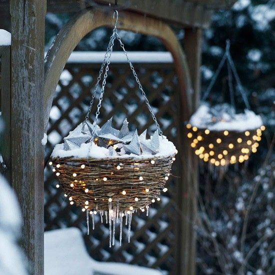 Outdoor Winter Decorations Not Christmas
