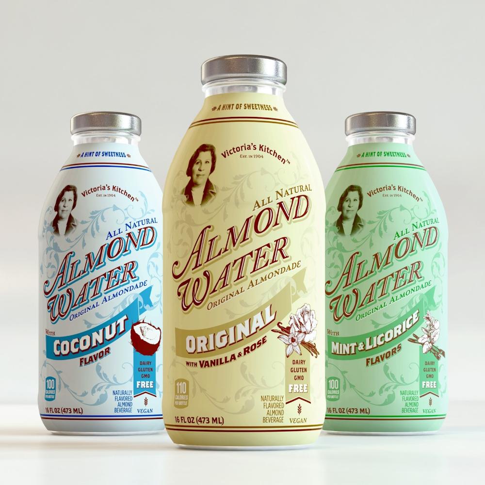 Victoria's Kitchen Almond Water