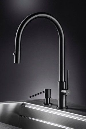 Black Stainless Kitchen Faucet