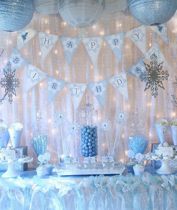 Winter Wonderland Theme Decorations