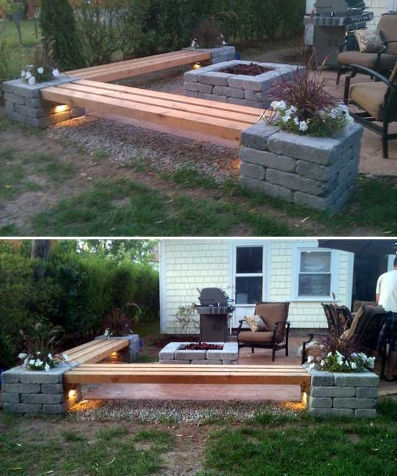 Low Budget DIY Backyard Idea