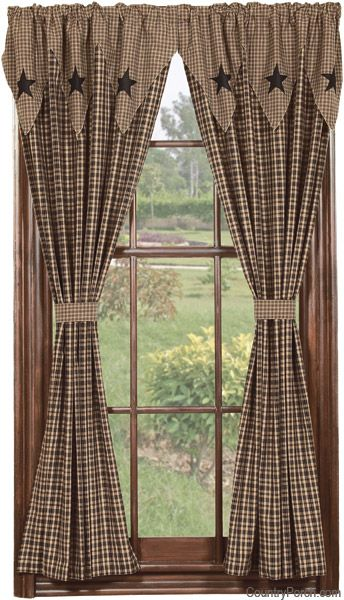 Country Curtains For Living Room