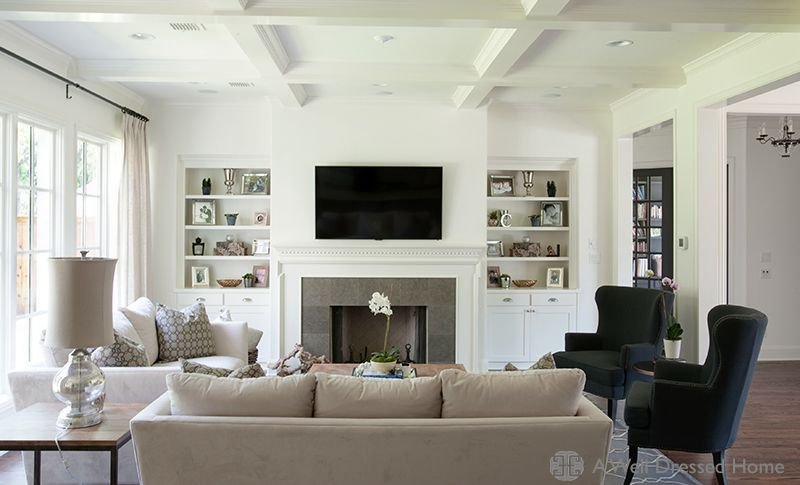 Living Room Layout With Fireplace