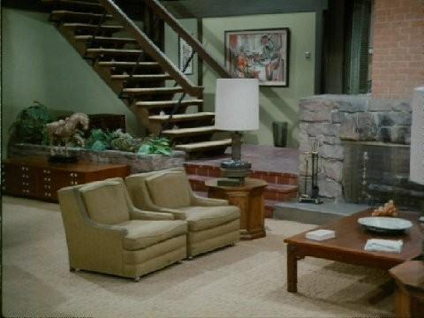 Brady Bunch Living Room