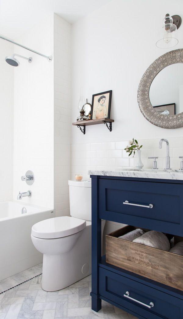 Blue Vanity Bathroom Ideas