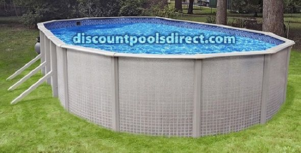 Sandstone 18 Round Above Ground Swimming Pool