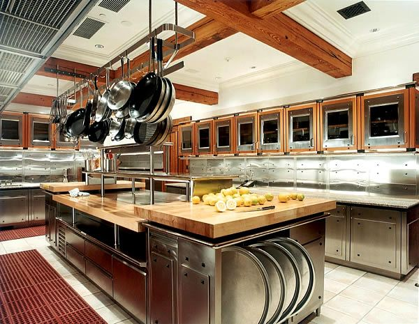 Commercial Kitchen In Home