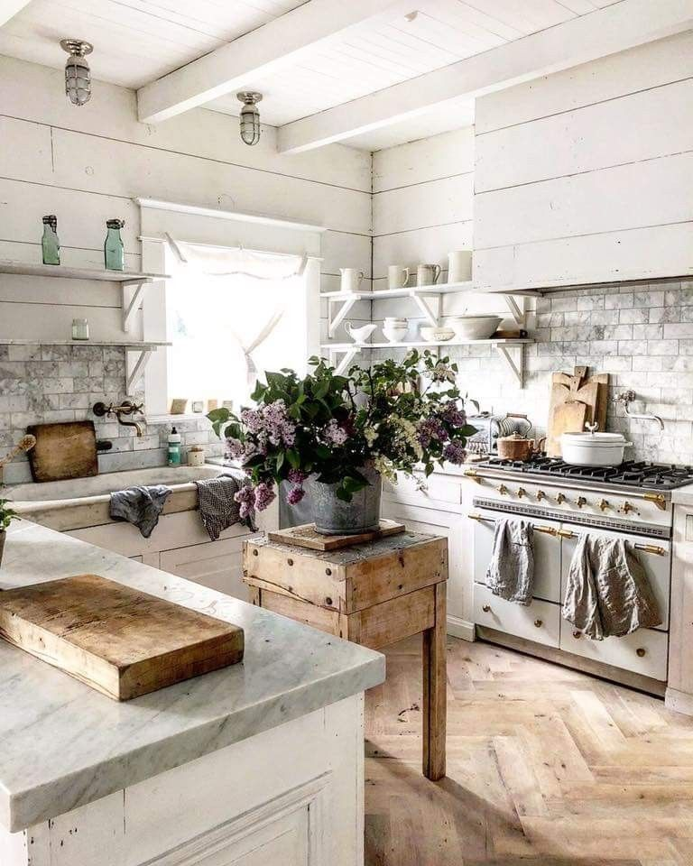 Farmhouse French Country Kitchen