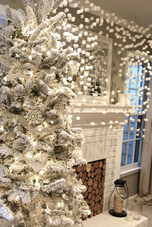Winter White Christmas Decor