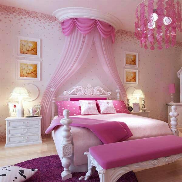 Girls Bedroom Ideas Pink
