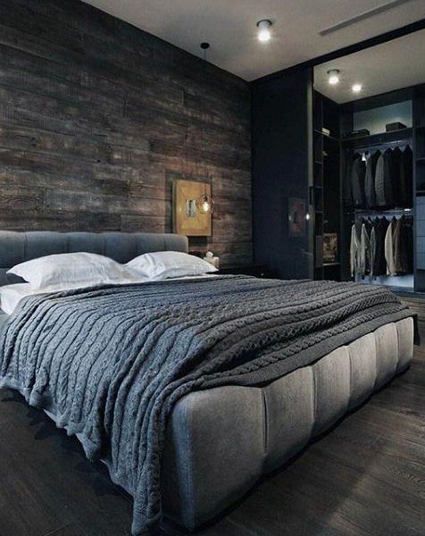 Modern Mens Bedroom