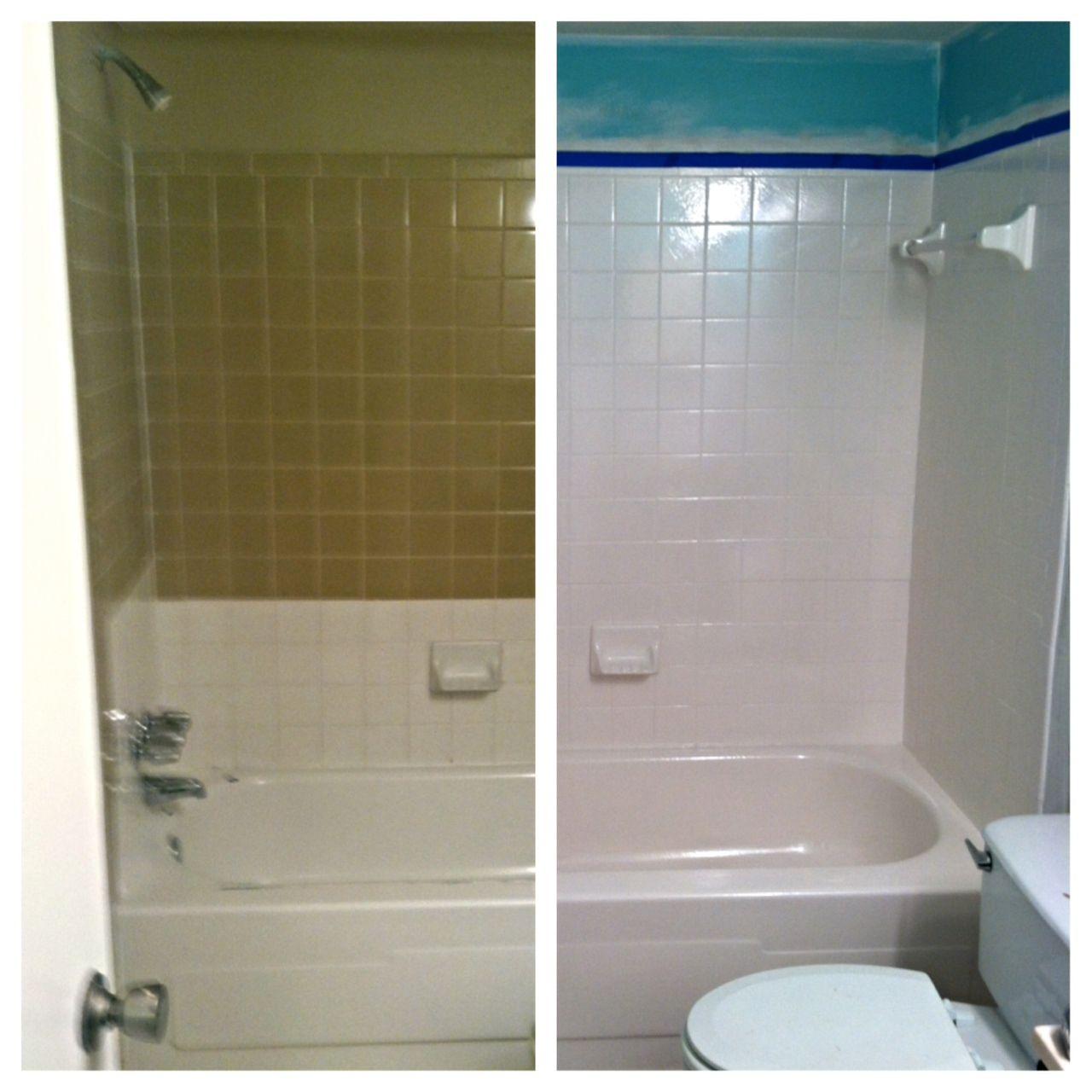 Reglazing Bathroom Tile