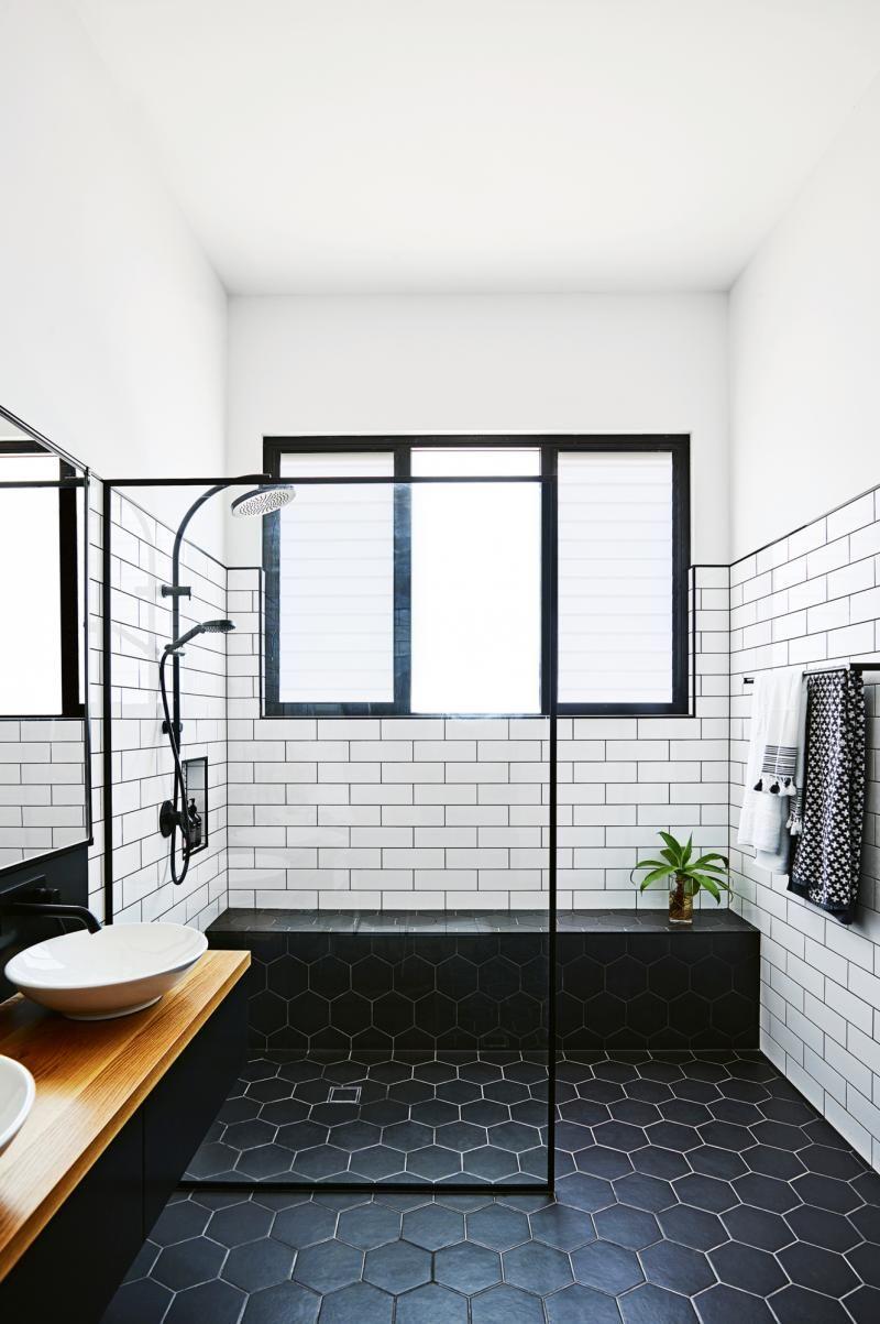 Modern Black And White Bathrooms
