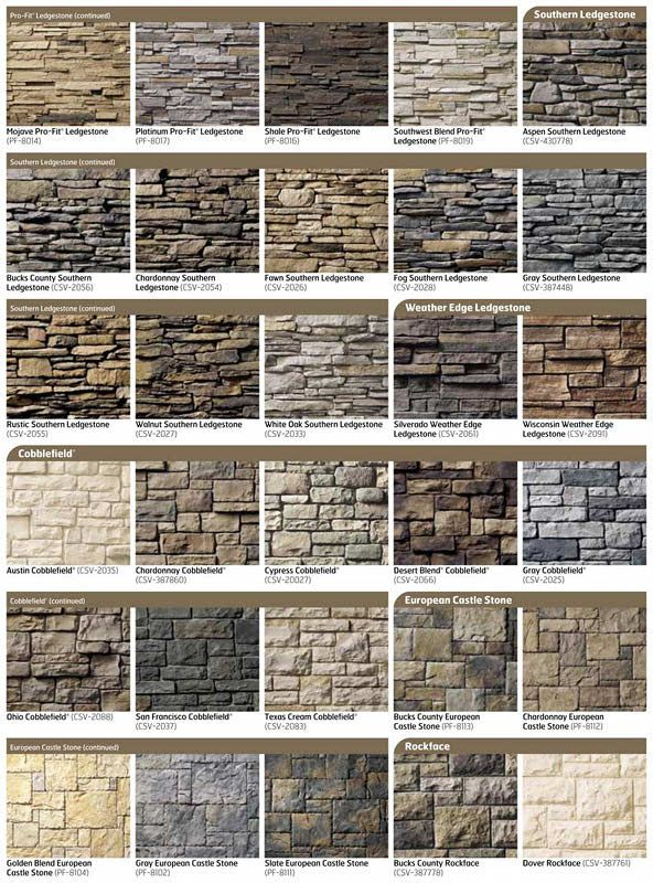 Natural Stone For House Exterior