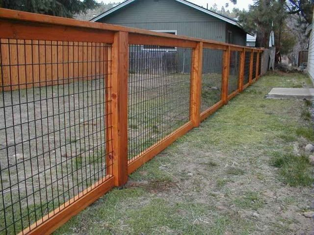 Cheap Fence Ideas For Backyard