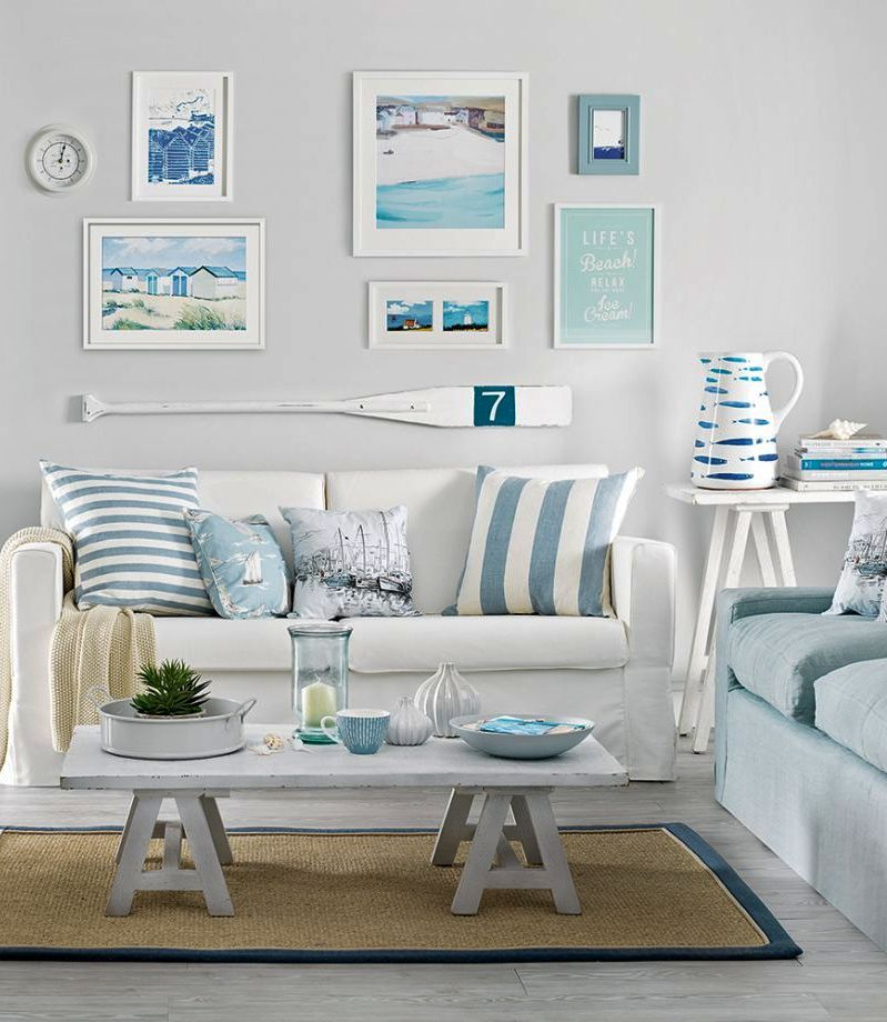 Beach Decor Living Room