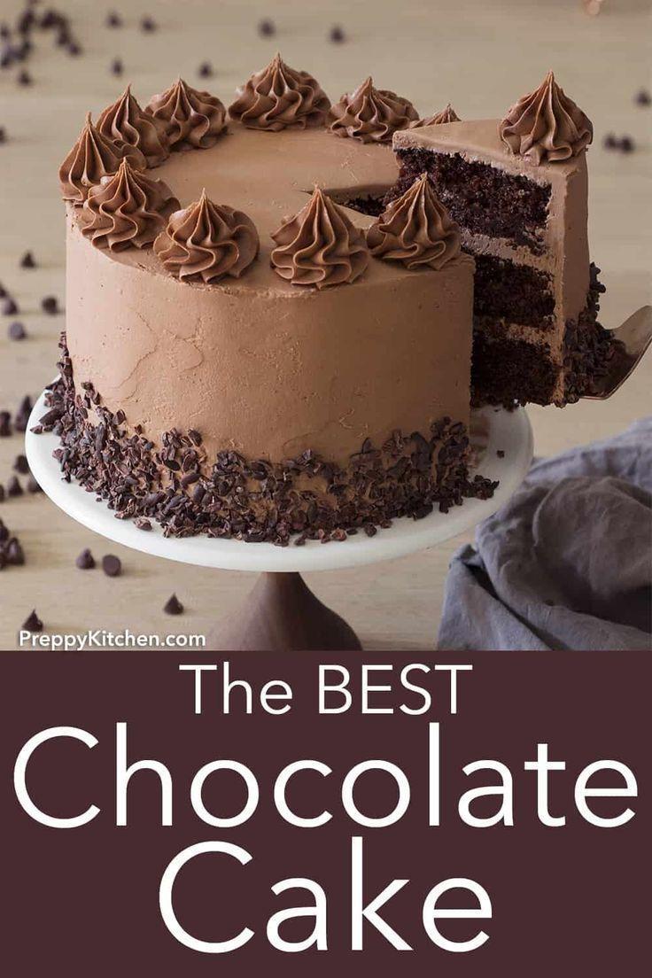 Preppy Kitchen Chocolate Cake