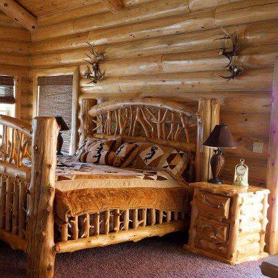 Log Bedroom Set