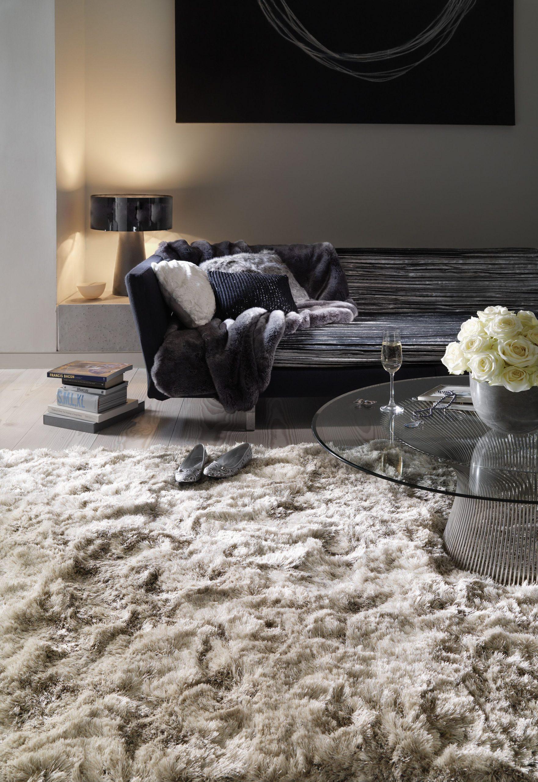 Plush Living Room Rugs