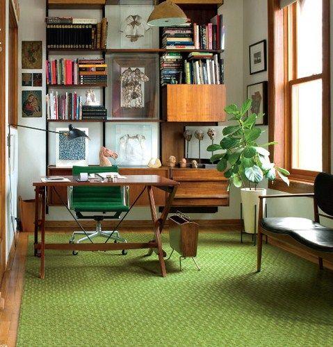Mid Century Home Office