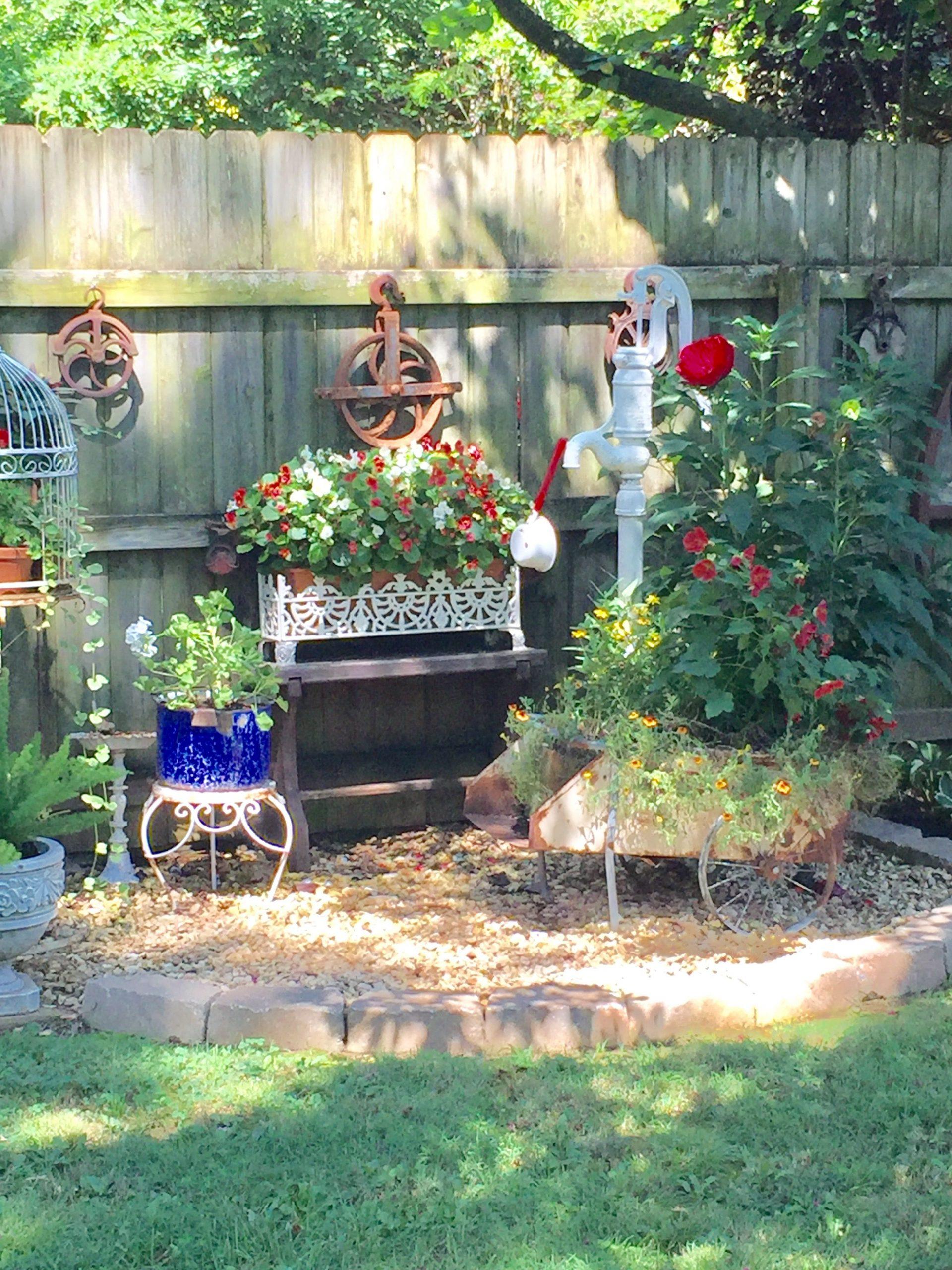 Rustic Garden Decor Ideas