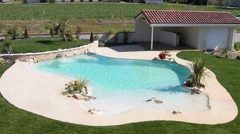 DIY Backyard Beach Pool